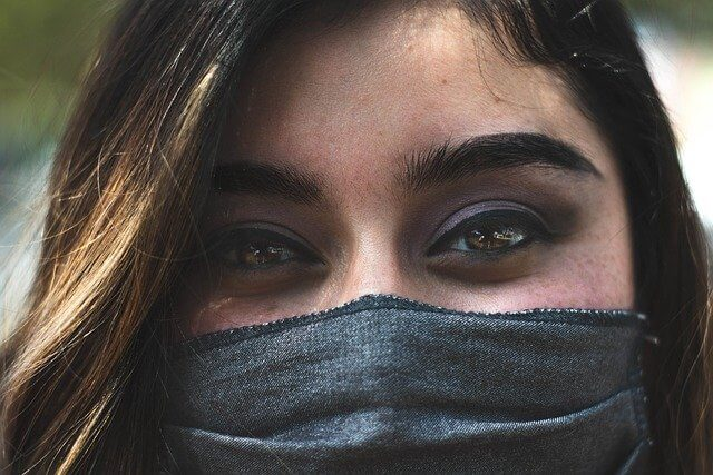 Como usar a mascara de tecido
